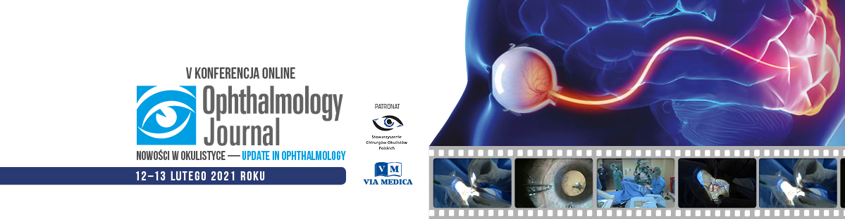 V Konferencja Ophthalmology Journal